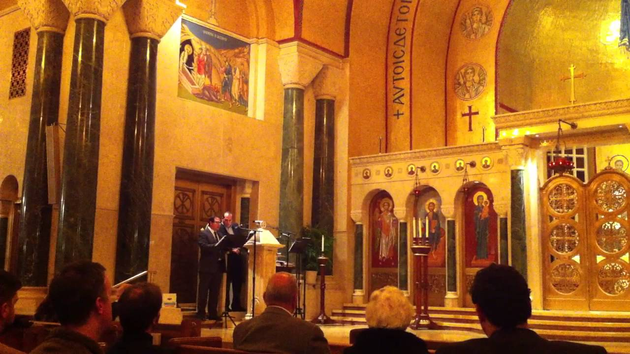 A Byzantine Christmas, St  Sophia's Greek Orthodox Cathedral, Washington DC, Dec 8, 2013