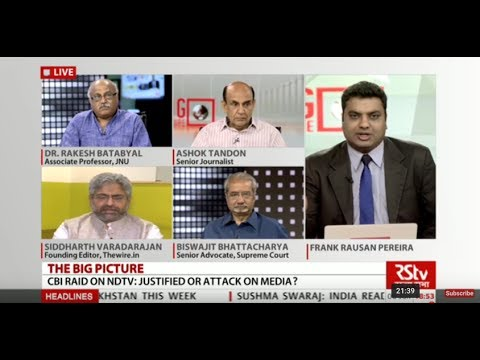 The Big Picture : Are CBI raids on NDTV founders justified?