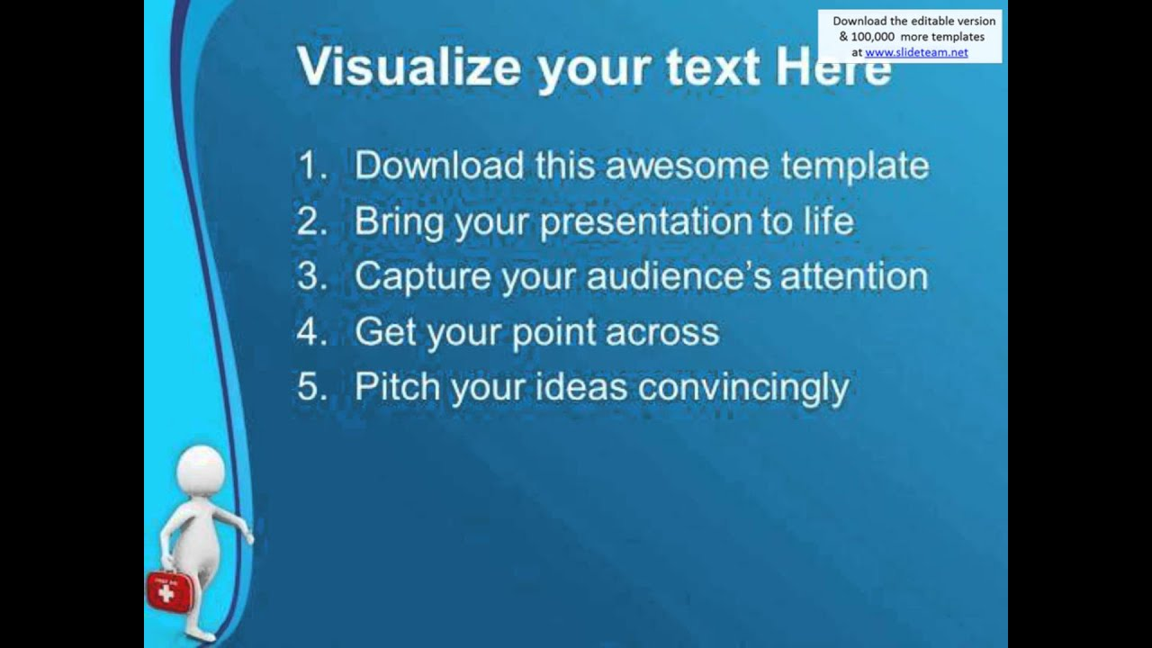 seek first aid in case of accident powerpoint templates ppt, Powerpoint templates