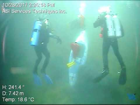 Coulée d'Archimède 5 dans la carrière Kahnawake