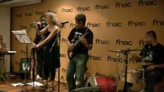 FNAC BARRA RJ 2010 Sem jeito (Lica Cecato & Junior Aguiar)