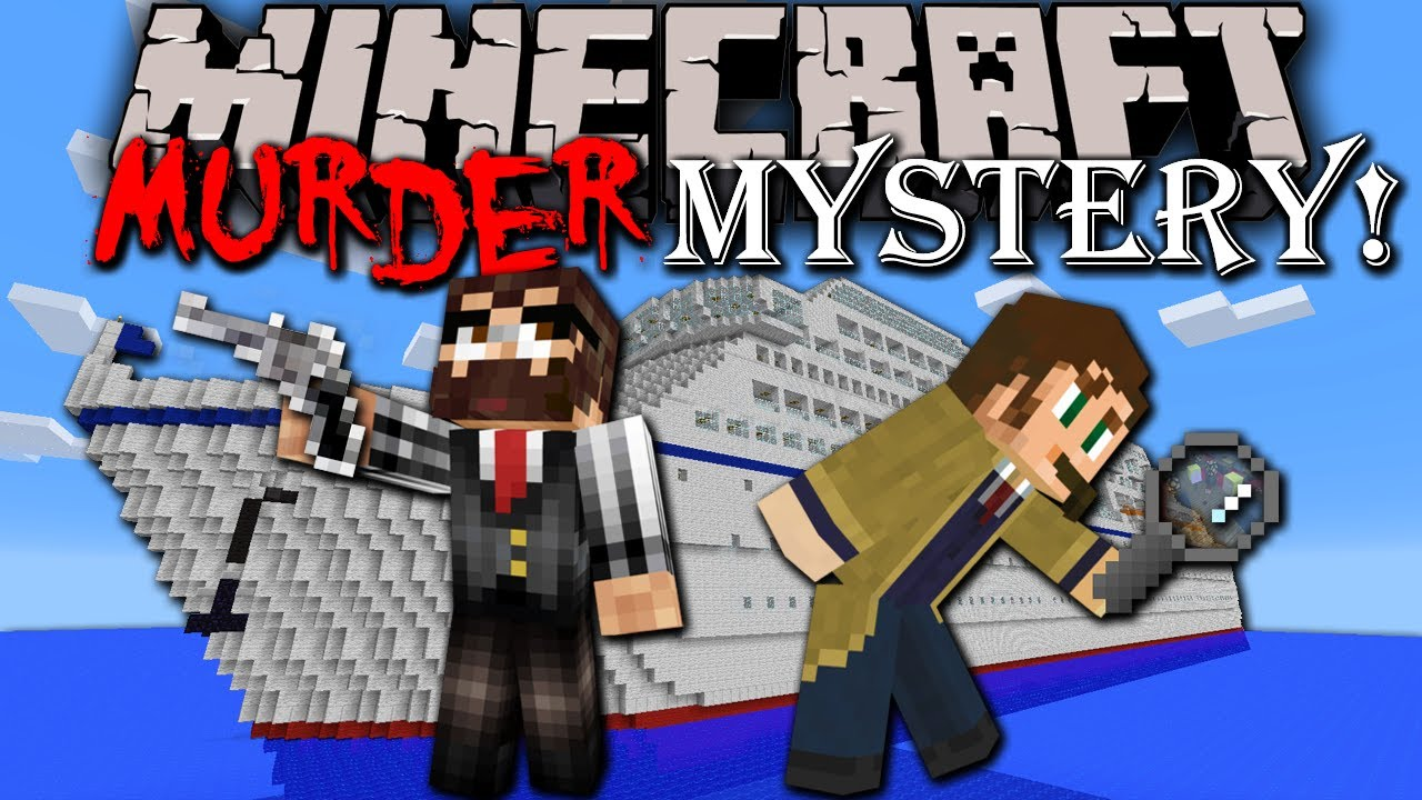 Minecraft Murder Mystery Sherlock Holmes Adventure Map Cruise - Cruise ship mysteries
