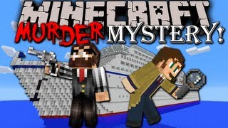Minecraft: Murder Mystery - Sherlock Holmes Adventure Map (Cruise Ship Down) - Episode 1