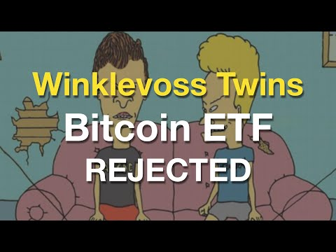 Winklevoss Twins Bitcoin ETF Rejected By The SEC