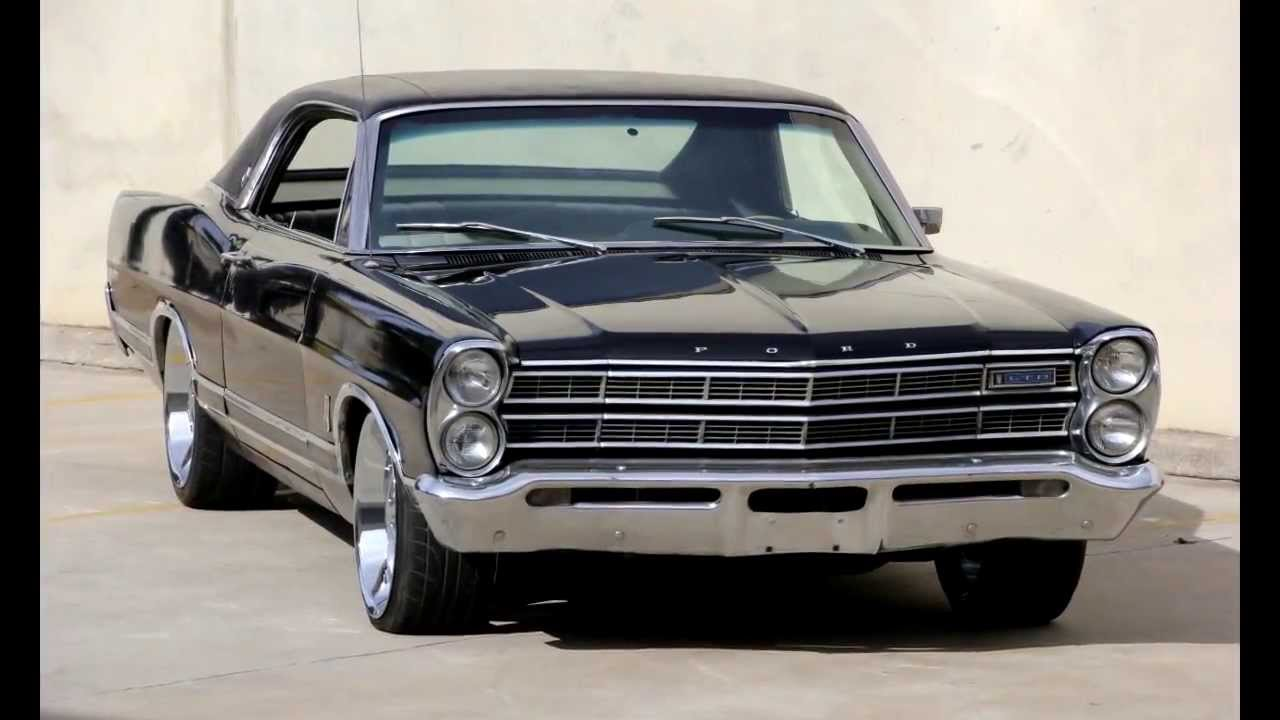 1967 Usa Ford Ltd Galaxie Fastback Coupe 390 Big Block V8