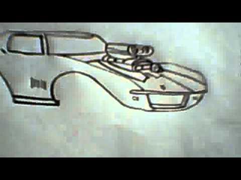 Dibujo De Un Auto De Rapidos Y Furiosos 1 Youtube