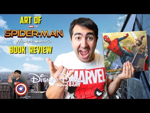 The Art of Marvel's SPIDER-MAN: HOMECOMING - Book Review & Unboxing