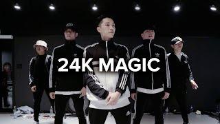 Download 24K Magic - Bruno Mars / Junsun Yoo Choreography Mp3 and Videos