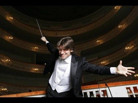 Даниэле Рустиони в Михайловском театре / Daniele Rustioni conducting at the Mikhailovsky Theatre
