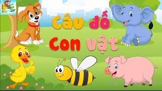 Câu đố vui cho bé về con vật có đáp án | đố bé con gì dạy bé học con vật | Giáo dục trẻ em ECE 1