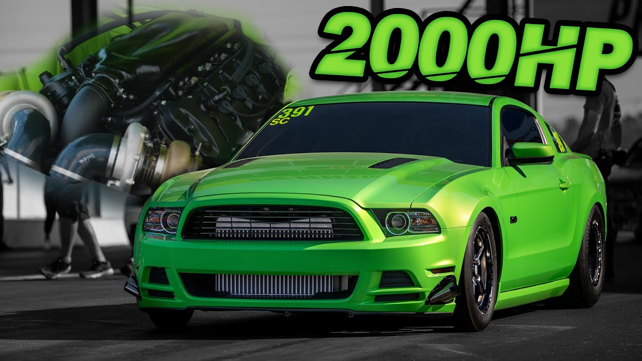 2000HP Coyote Beats EVERYONE - WINS $10,500! (BADDEST Street Driven Mustang on the Planet?)