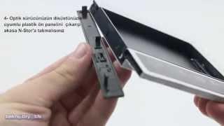 "Akasa Nstor 2.5""HDD - 5,25"" Slim Dönüştürücü Montaj Videosu"