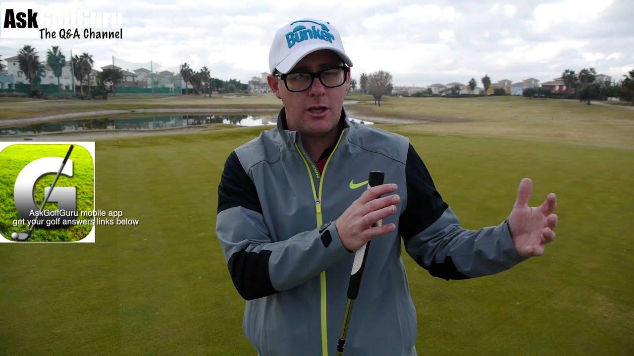 how to hit a hybrid golf club youtube