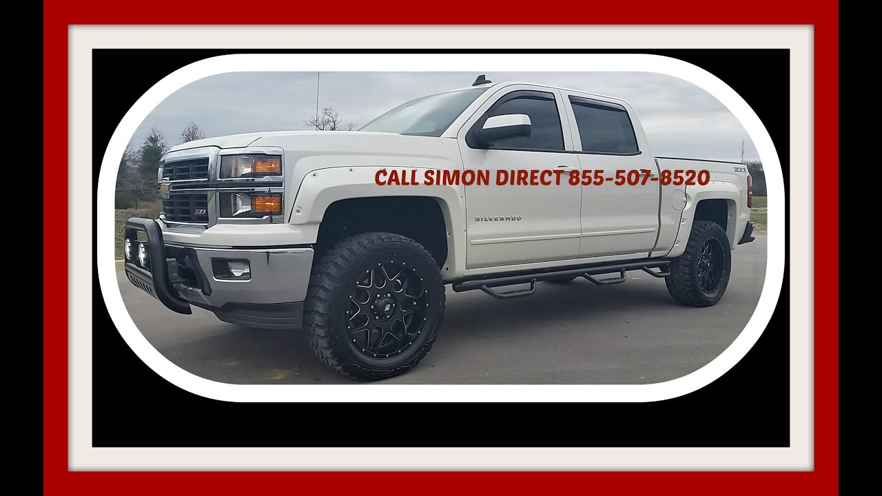 Sold2015 Chevrolet Silverado 1500 Z71 Crew Cab 4x4 2lt 4 Pro Comp White Lifted Chevy Lift Diamond 855 507 8520