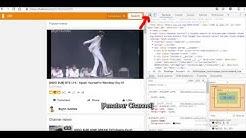 Tutorial cara download video di okru !
