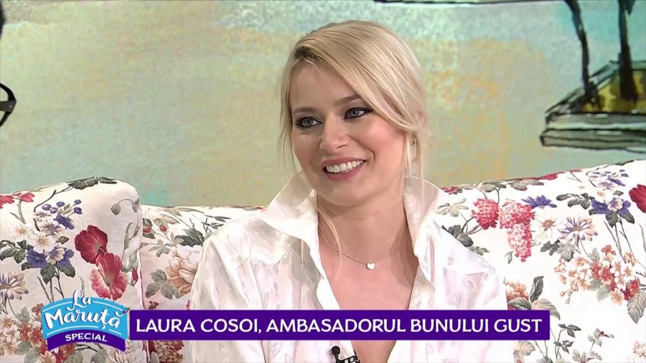 Laura Cosoi prepara ciorba de loboda a copilariei