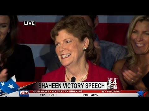 Sen. Jeanne Shaheen Wins Second Term