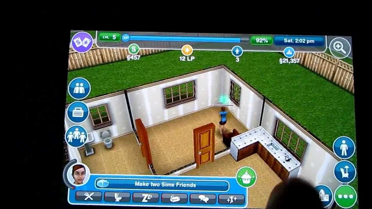 Hd Sims Freeplay Gameplay Android Samsung Galaxy S Naked Parts