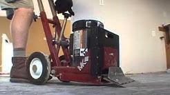 Power Floor Scraper Touring Tiles