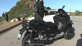 2008 Piaggio MP3 500 Scooter Review