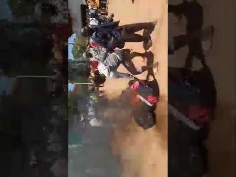 Demonstrations Rock Kisii Town Jubilee Billboard Set On Fire