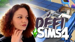 8 Sims dans le plus petit appart ?! 🏗️ || CHALLENGE SIMS 4