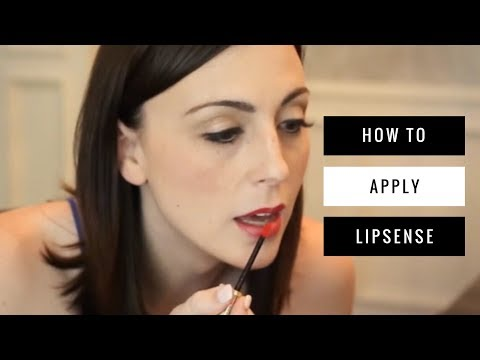 How to Apply LipSense by SeneGence