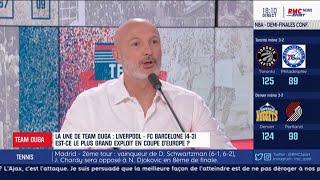 """VIDEO: Liverpool - Leboeuf : """"J'ai eu les larmes aux yeux à la fin du match"""""""