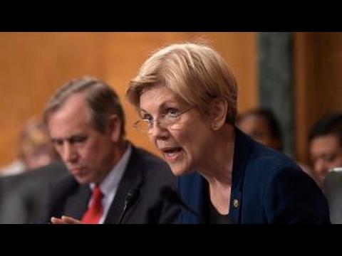 Sen. Elizabeth Warren is 'troubled' by Obama's $400k Wall Street speech