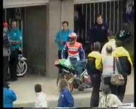 Carlos Cardus Stupid entry 1990 Phillip Island GP 500 250