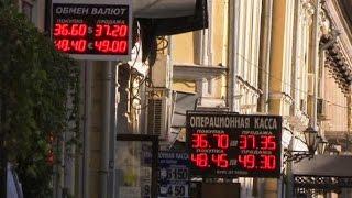 Рубль пробил исторический минимум к доллару из-за угрозы новых санкций(новости)