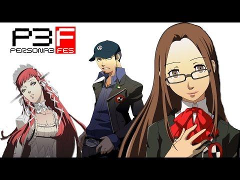 QUESTIONING CHIDORI & CHIHIRO SOCIAL LINK | Persona 3 FES