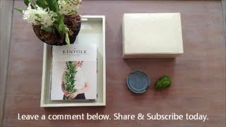 How To Style A Coffee Table I An Appealing Plan With Krayl Funch