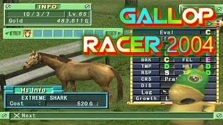 Gallop Racer 2004 Playstation 2 Gameplay Walkthrough Horse Racing Games For PS2 Commentary Day 59