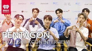 "Pentagon Talk ""Shine"" + Performing For American Fans 