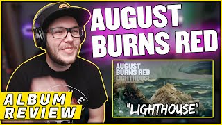 """AUGUST BURNS RED - """"Lighthouse"""" Guardians (REACTION/ ALBUM REVIEW)"""