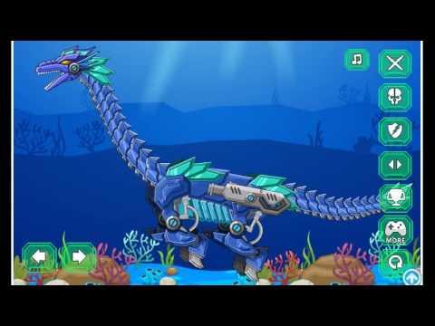 Мультики Механические Динозавры Роботы: Гадрозавр - Mechanical Dinosaurs Robots: Hadrosaurus