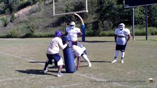 Charles R Drew Sports-2018-Football-Spring Football Practice-Day 1-Monday, May 7th, 2018