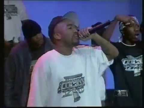 Outlawz performing Life Of An Outlaw / Baby Don't Cry (Keep Ya Head Up II) on BET Live from L.A.