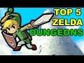 Top 5 Zelda Dungeons (3D Games)