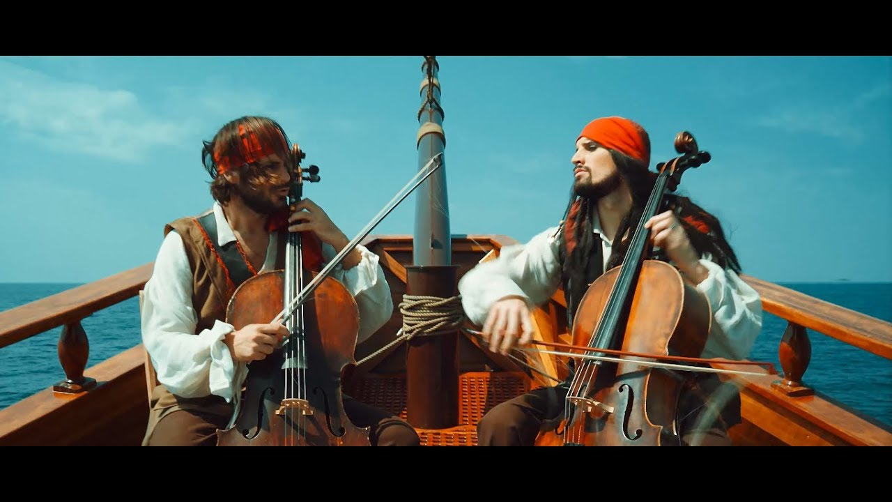 2CELLOS - Pirates Of The Caribbean [OFFICIAL VIDEO