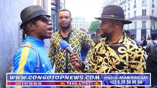 HERITIER WATA ALELI Après Annulation Ya Concert Olympia AZUI PROBLÈME Na POLICE FRANÇAISE Bosunga Ye