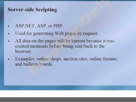 34 MTA 98 361 Understand Web Page Development   Client Side and Server Side   JavaScript with Exampl