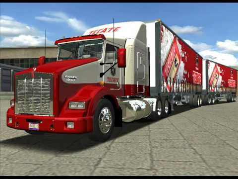 camiones virtuales de vtc tea 18 wheels haulin youtube. Black Bedroom Furniture Sets. Home Design Ideas