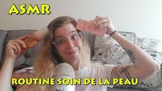 ASMR Francais - Ma routine de soin de peau