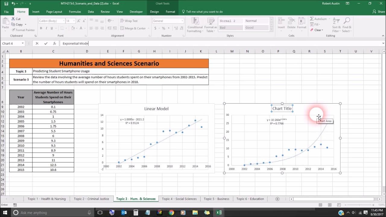 quantitative reasoning  creating visuals from data