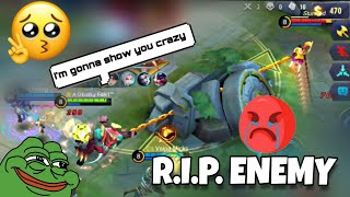 FRANCO HOOK = R.I.P. ENEMY 😭| S14 RANK HM | WOLF XOTIC | MOBILE LEGENDS