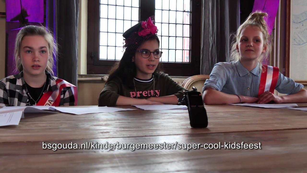 Persconferentie kinderburgemeester Romaissa over Super Cool Kidsfeest