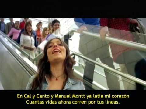 Karaoke videoclip-comercial 40 años del Metro de Santiago
