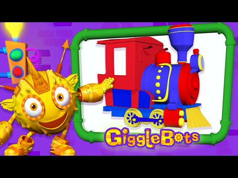 Build A Train For Kids –Toy Factory & More Fun Videos For Kids